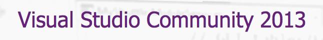 vsCommunity2013