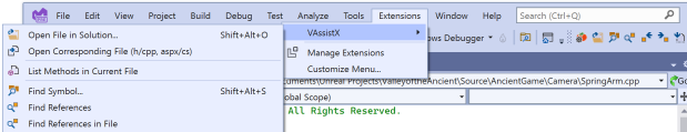 Visual Assist support for Visual Studio 2022Previews!